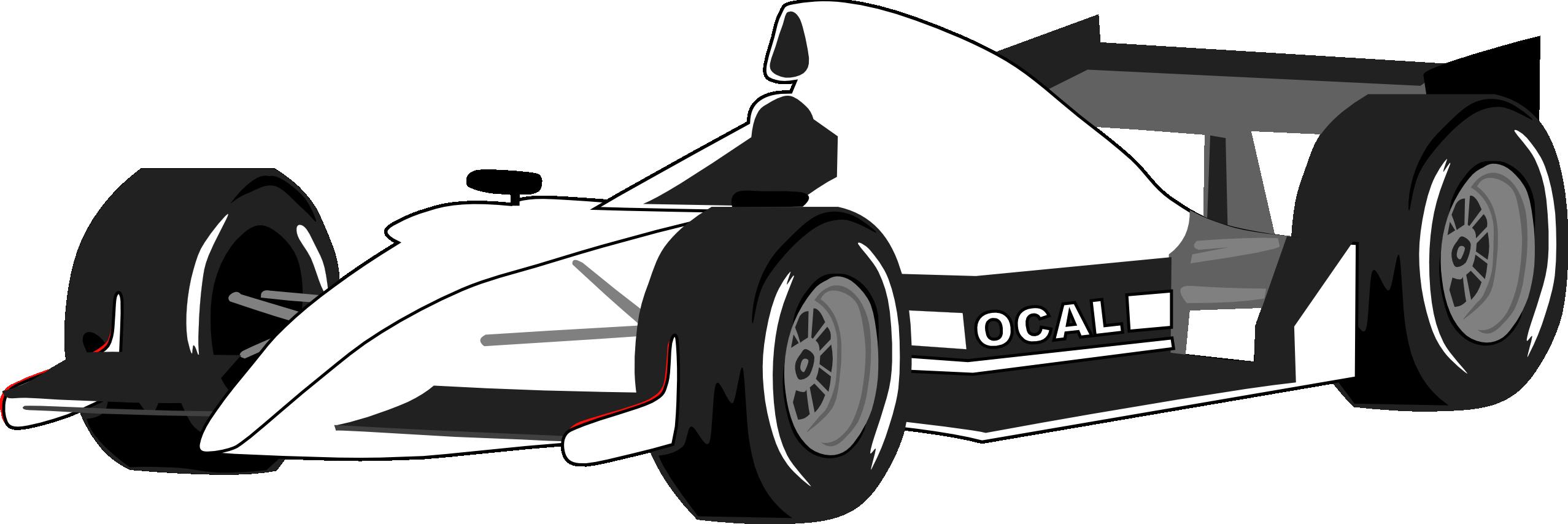 Formula 1 clipart.