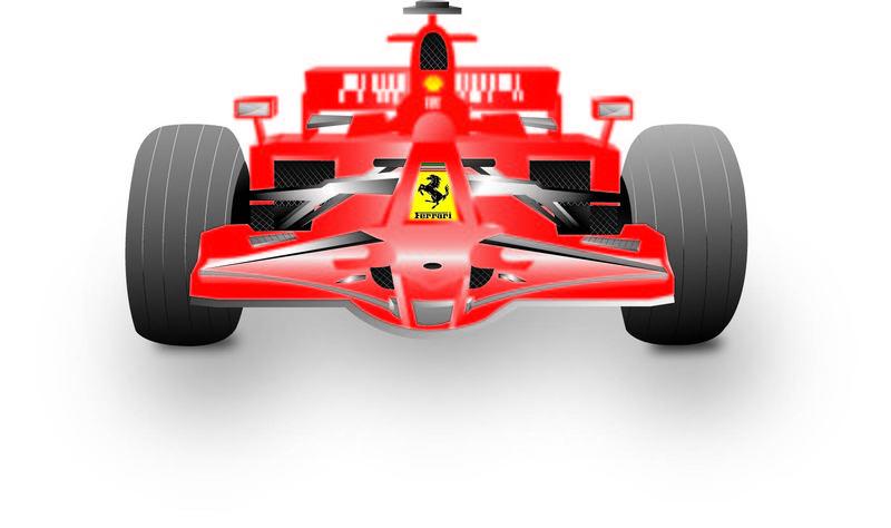 Race car clipart formula 1.
