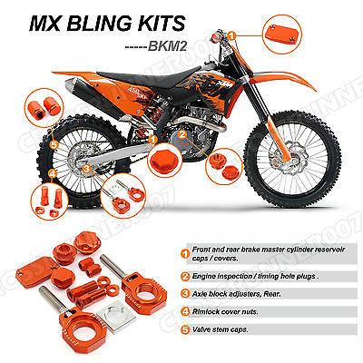 MX CNC Bling Kits For KTM SX SXF SX.