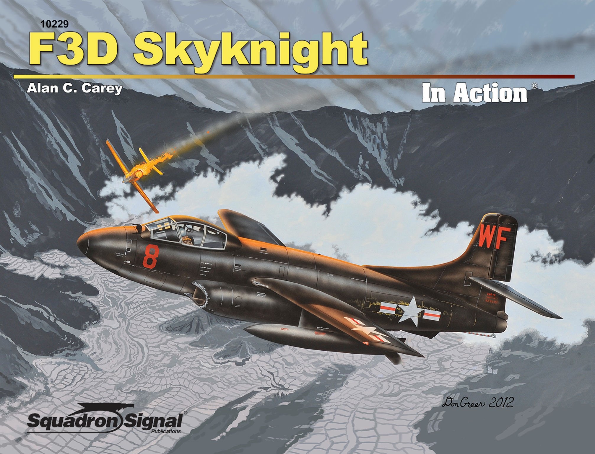 F3D Skyknight in Action (10229): Alan C. Carey: 9780897476850.