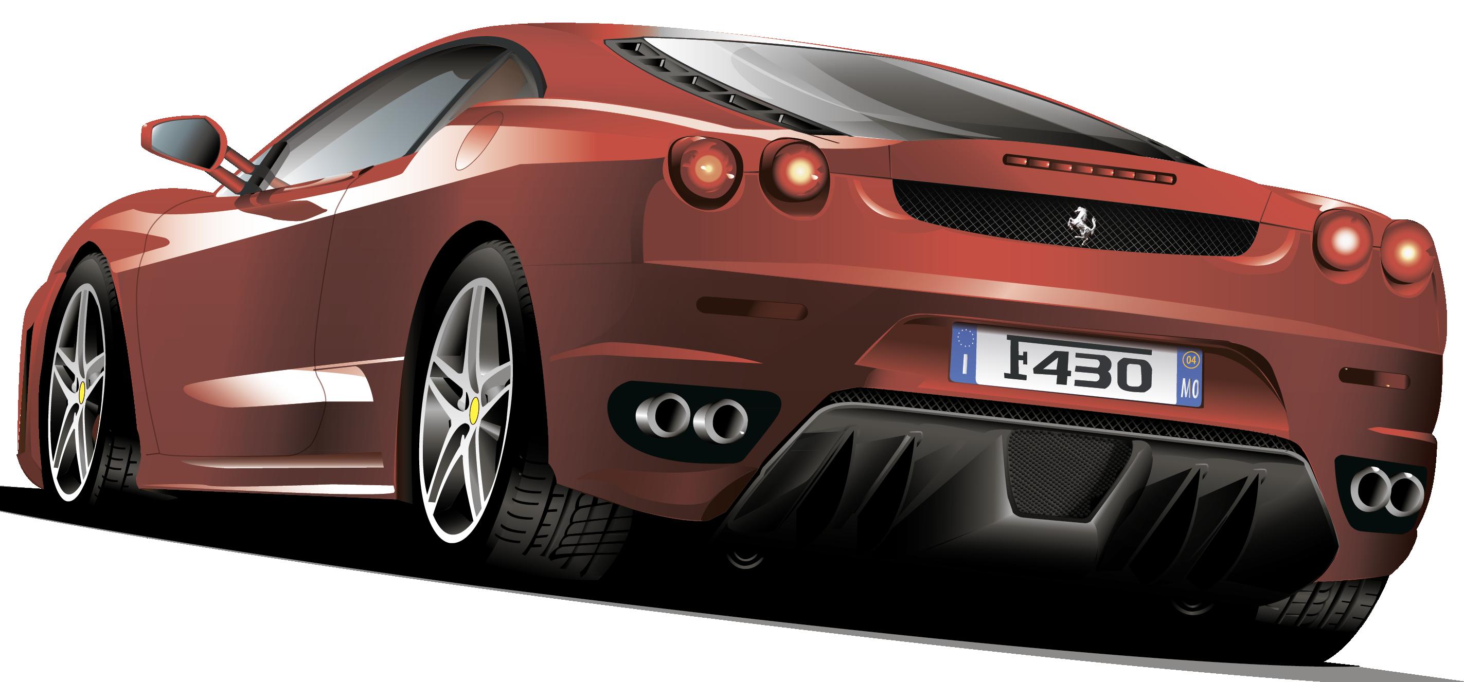 Ferrari F430 PNG Clipart.