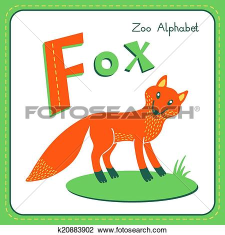 Clipart of Letter F.