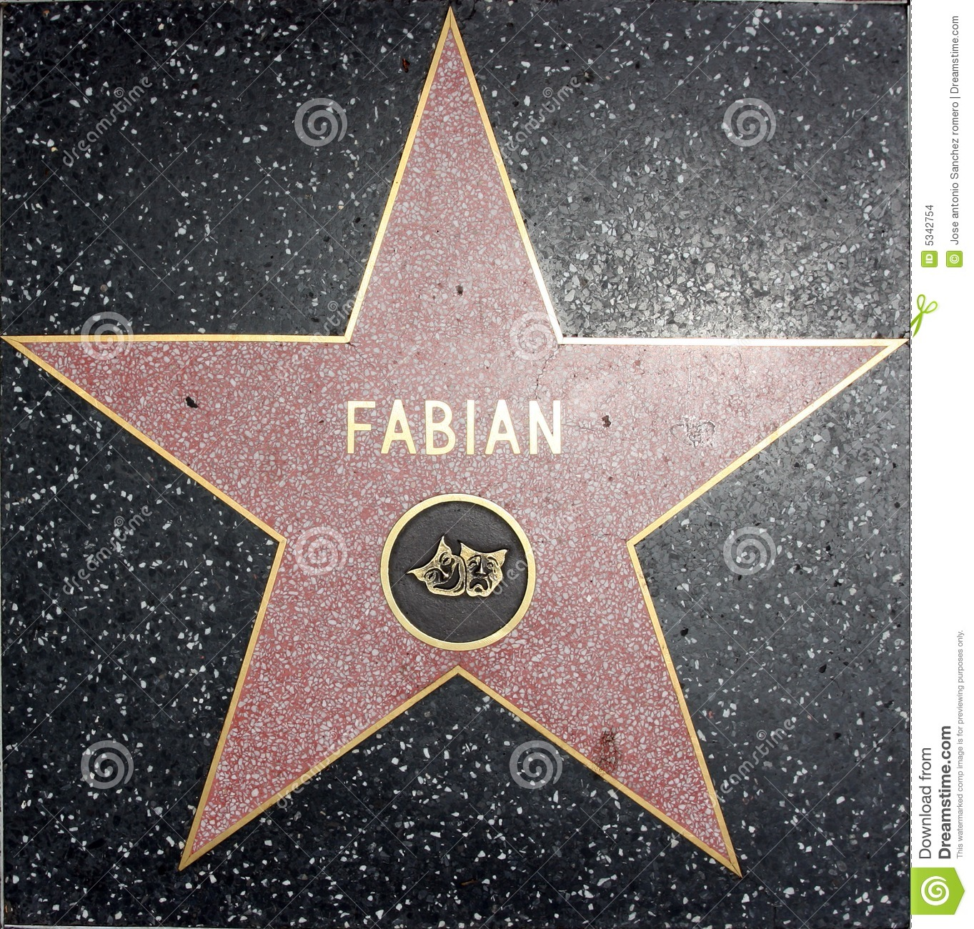 Clipart walk of fame.