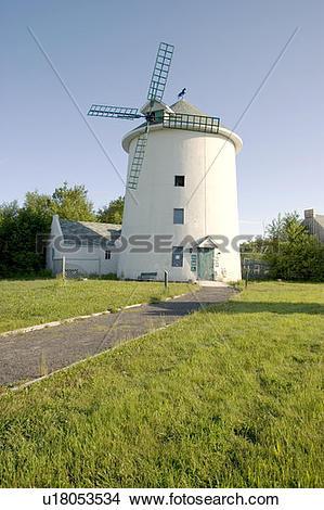 Stock Photo of Le moulin des découvertes, Saint.