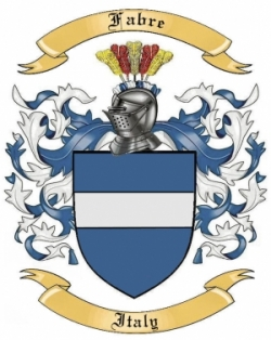 Fabre Family Crest from Italy by The Tree Maker.