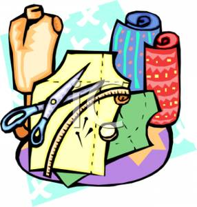 Free fabric clipart.