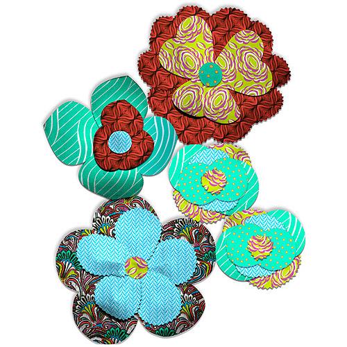Flower Petal Cut Out Pattern.