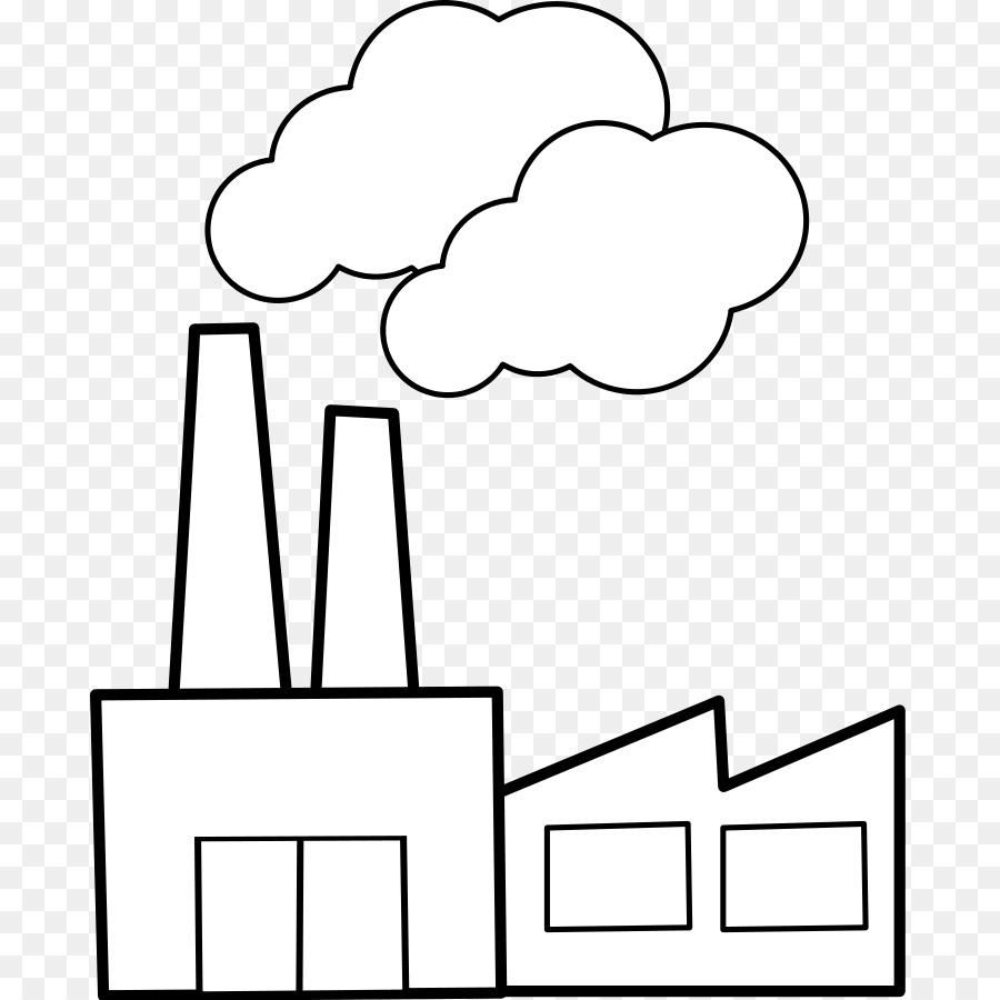 Fabrik der Industriellen Revolution Clip.