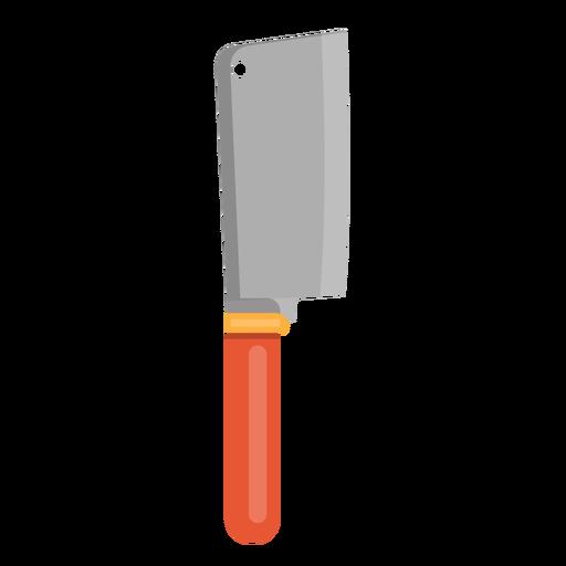 Ícone de faca de cutelo.