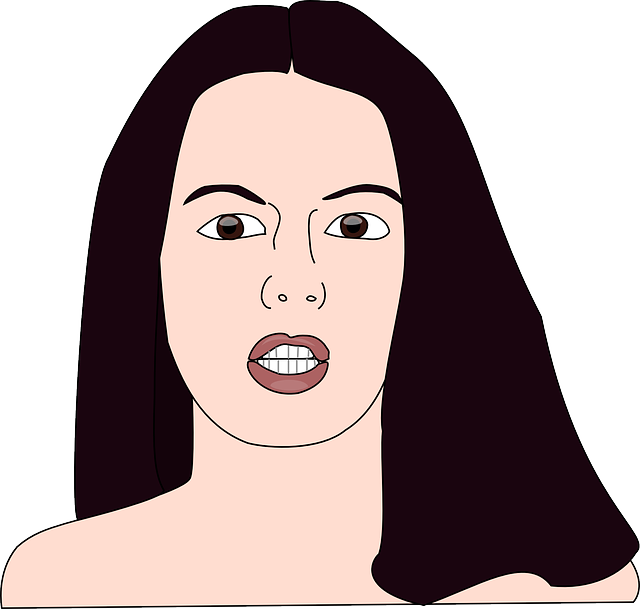 Free vector graphic: Woman, Lady, Female, Face, Hair.