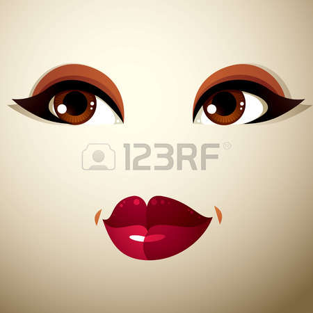 Face Lip Stock Vector Illustration And Royalty Free Face Lip Clipart.