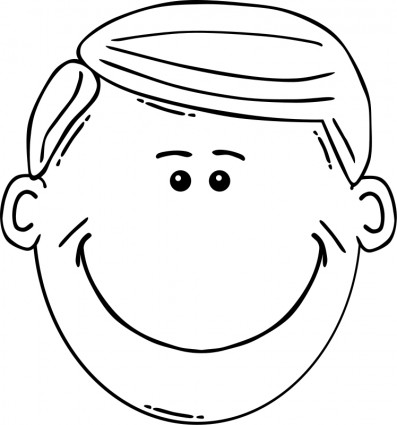 Free Face Clipart Black And White, Download Free Clip Art.