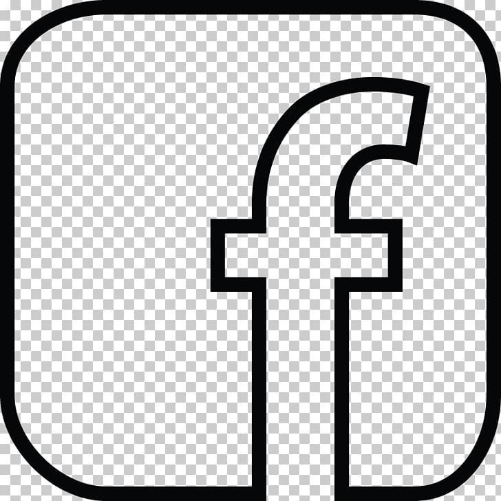 Facebook Computer Icons Logo , Background black, Facebook.