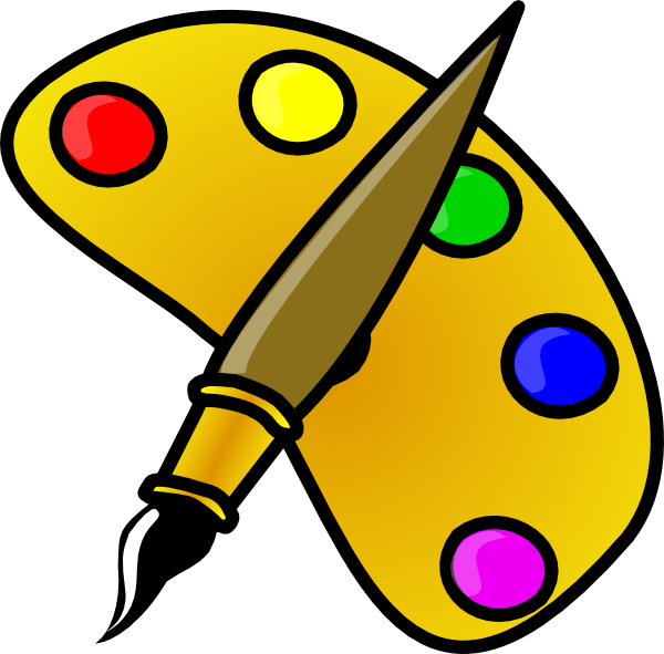 Clip Art Cartoon Face Paint Clipart.