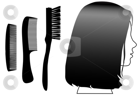 Face brush clipart #13