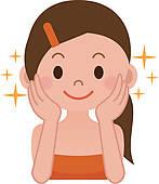 Facial Care Clip Art.