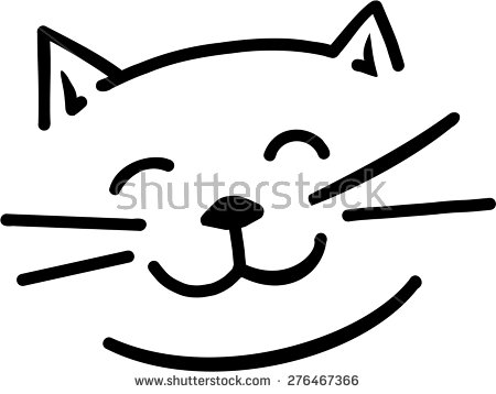 Cat Face Stock Images, Royalty.
