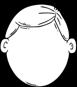 Blank Face Clipart.