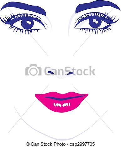 Woman face Vector Clip Art Royalty Free. 65,542 Woman face clipart.