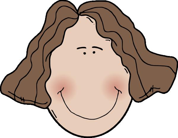 Lady Face clip art Free Vector / 4Vector.