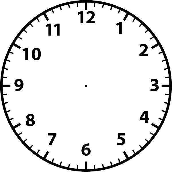 Blank Clock Clipart & Blank Clock Clip Art Images.