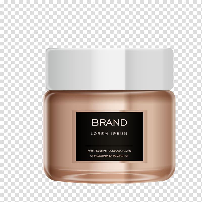 Brand Lorem Ipsum bottle illustration, Cream Packaging and.