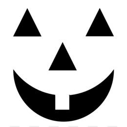 Pumpkin Face PNG.