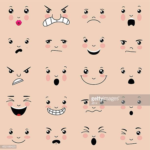 60 Top Facial Expression Stock Illustrations, Clip art, Cartoons.