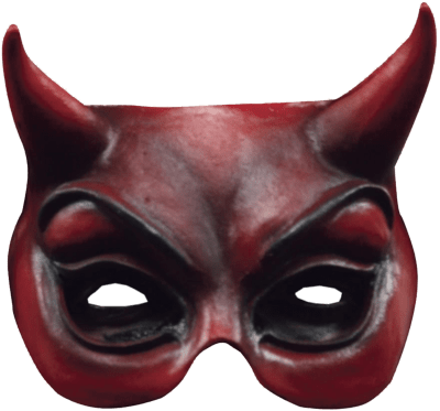 Devil Face Mask transparent PNG.