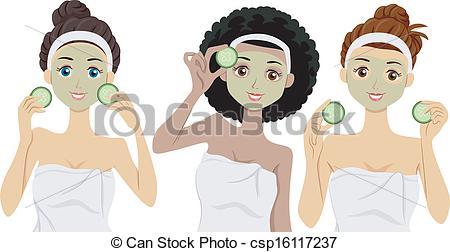 Vectors of Facial Masks.