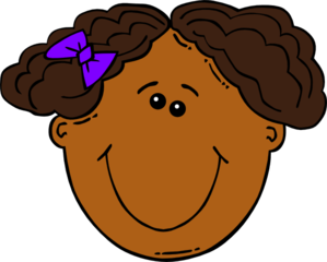 Cartoon Girl Face Clip Art at Clker.com.
