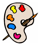 Carnival Face Painting Clipart.