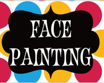 Face Painting Clipart.
