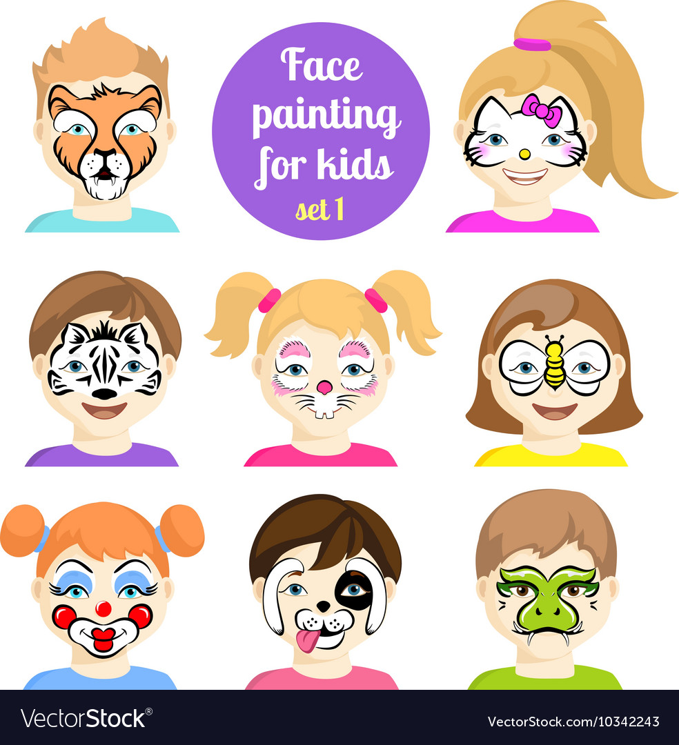 Face painting 7.