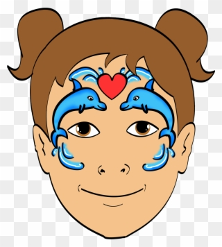 Free PNG Face Painting Clip Art Clip Art Download.