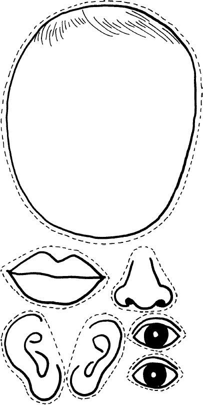 Face Parts Body Clipart For Doctors.
