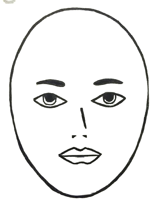 Face clipart black and white 4 » Clipart Station.