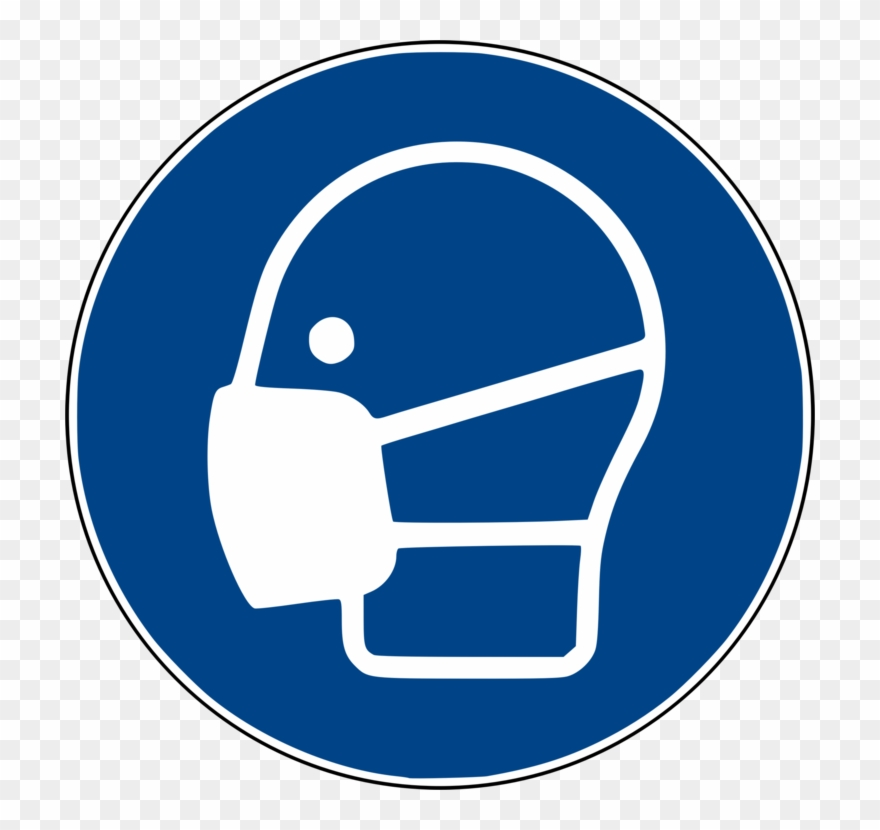 Face Shield Personal Protective Equipment Dust Mask Clipart.