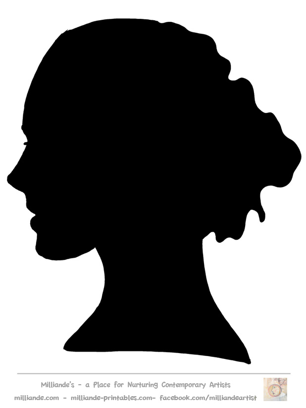 Free Woman Profile Silhouette, Download Free Clip Art, Free Clip Art.