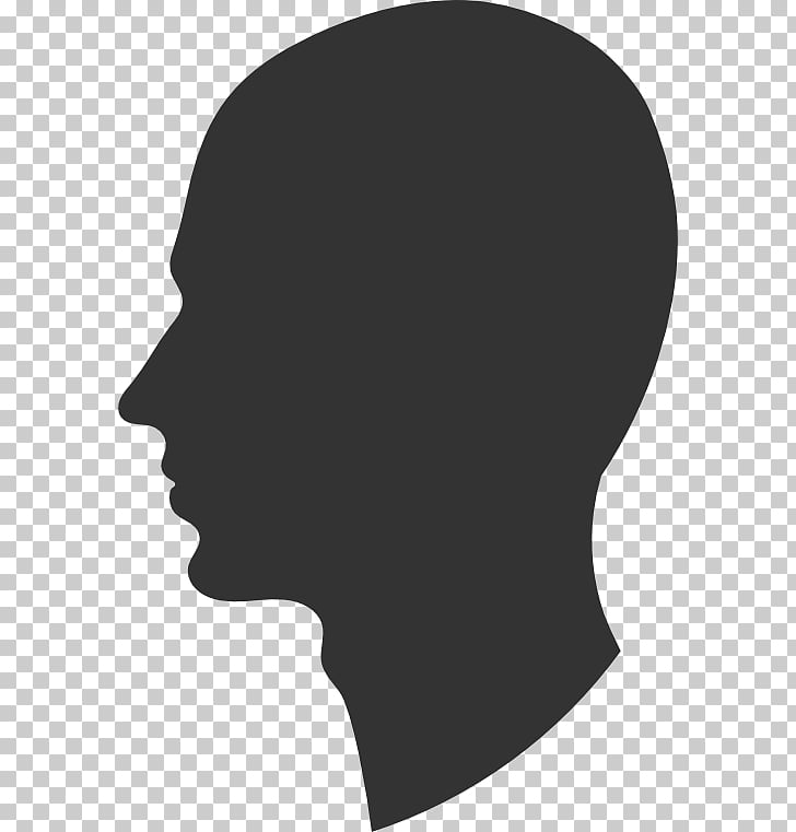 Face Silhouette , Head s PNG clipart.