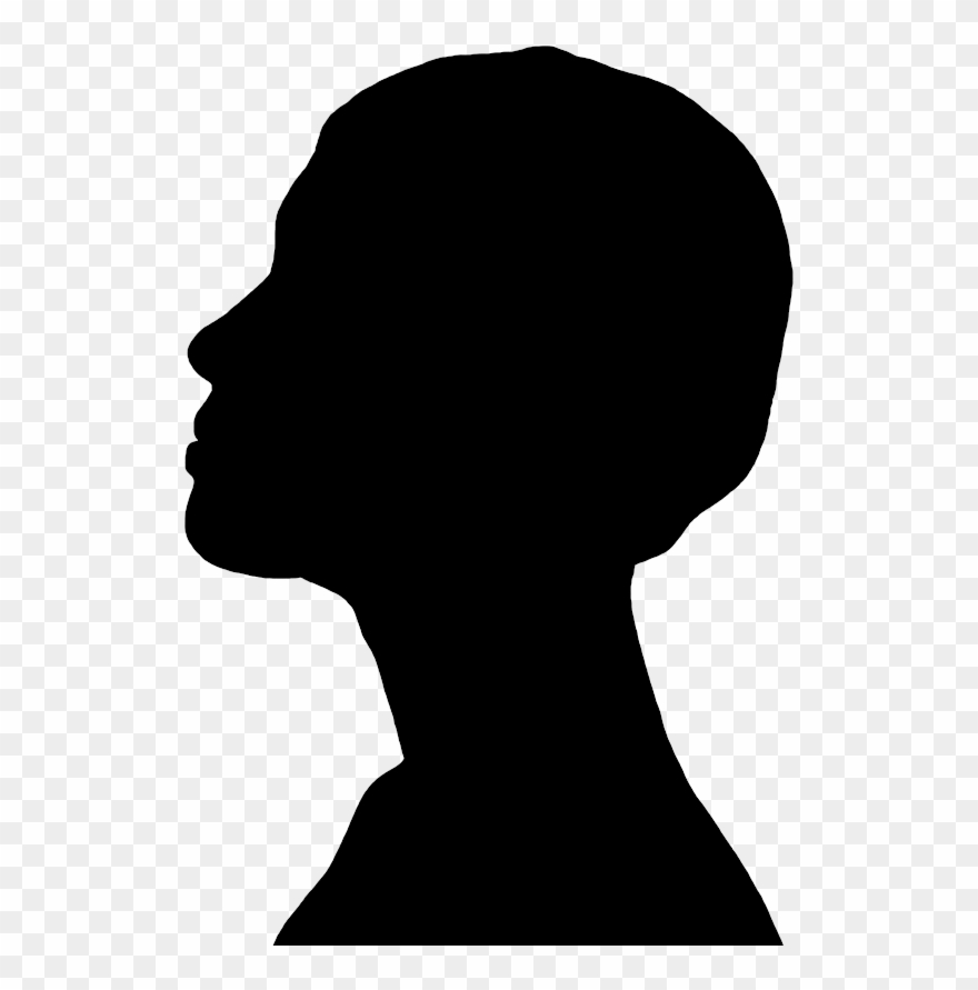 Face Profile Silhouette At Getdrawings Com Free.