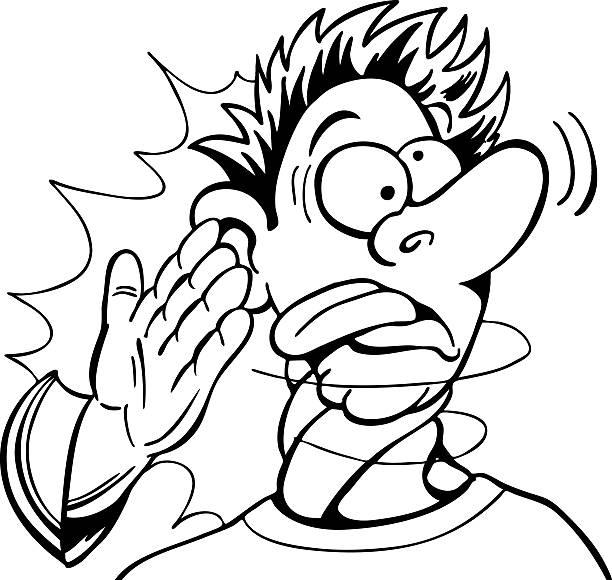Slap Face Illustrations, Royalty.