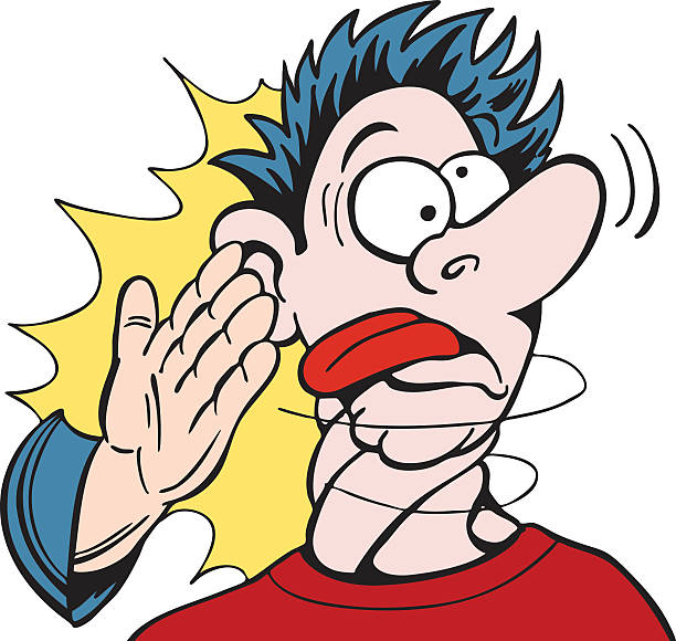 Slapping Someone Clipart.