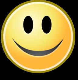 Tango Face Smile Clipart.