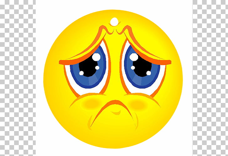 Sadness Face Smiley , Unhappy Face PNG clipart.