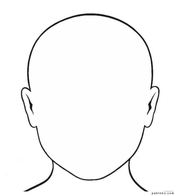 Blank Person Template For Kids Images Pictures.