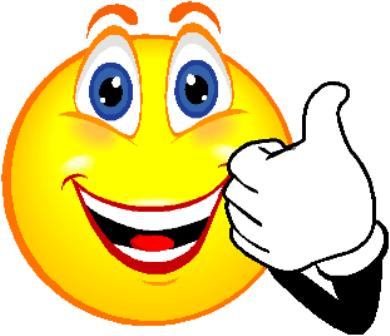 Excited Happy Face Clipart.