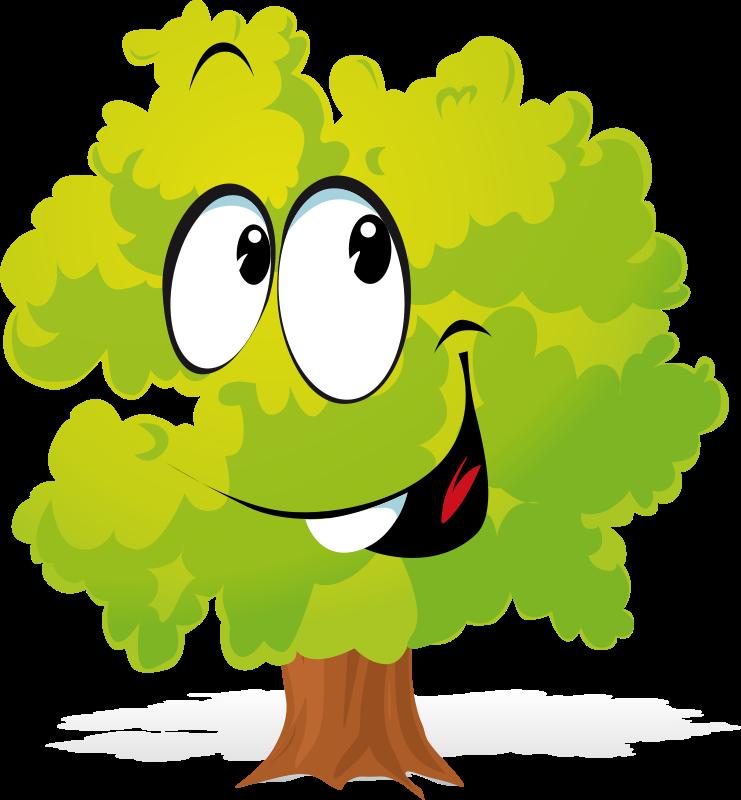 Tree Cartoon.