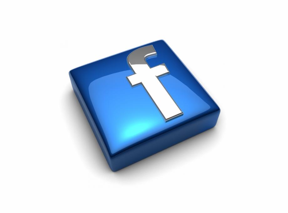 Facebook Logo Png Png Download 3D Png For.