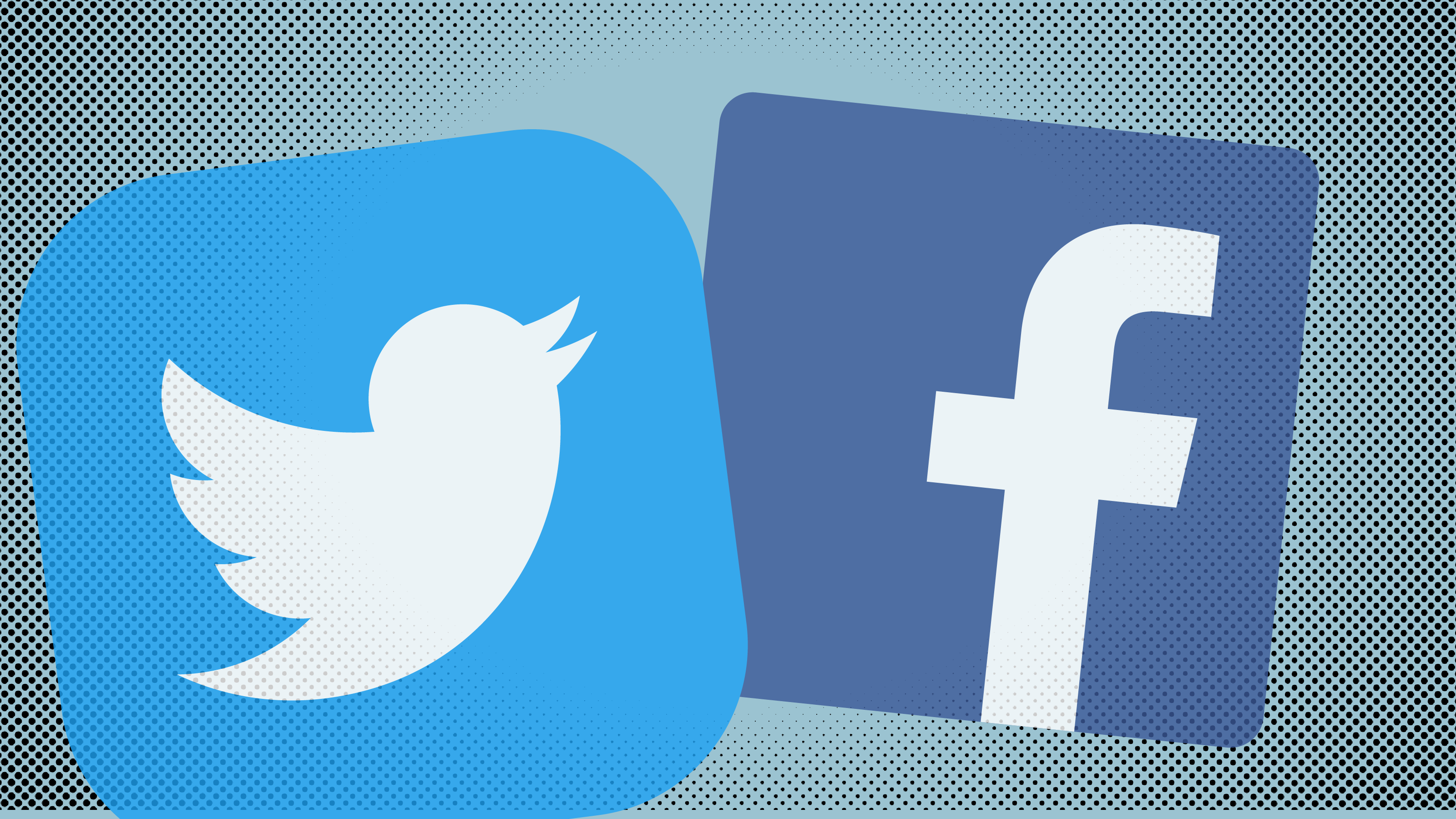 Twitter\'s deletion of its Facebook app caused old cross.